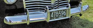 Bumperhoorns van een Cadillac